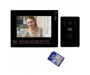 9inch Video Door Phone Doorbell Intercom Kit With SD card Video and Photo Taking   PY-V901MJ11REC