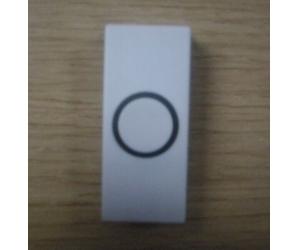 Plastic light weight button, with shining color door exit button PY-DB8