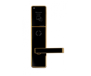 Stainless steel hotel keycard lock factory, rfid access control system