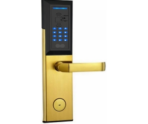 Zinc alloy digital keypad and ID card reader lock PY-8810-JH