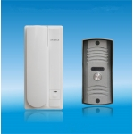 China 2 Wire Unlock Audio Door Phone Metal Outdoor Unit with Rain Cover     PY-DP3208C factory