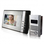 China 4 Wire Handsfree 7inch Video Door Phone Nightvision Two Way Intercom     PY-V802MB11 factory