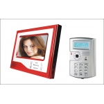 China 7 inch RFID Video Door Phone With Time Attendanc Function  PY-V7D-K factory