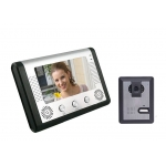 China 7 inch color video intercom doorbell tow up to six combinations of two PY-V801MA11 factory