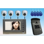China 7inch RF Card Video Door Phone Intergrate with IP Camera   PY-V7DVR-FD factory