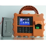 China protable biometric time attendance  with back up battery PY-S922 factory