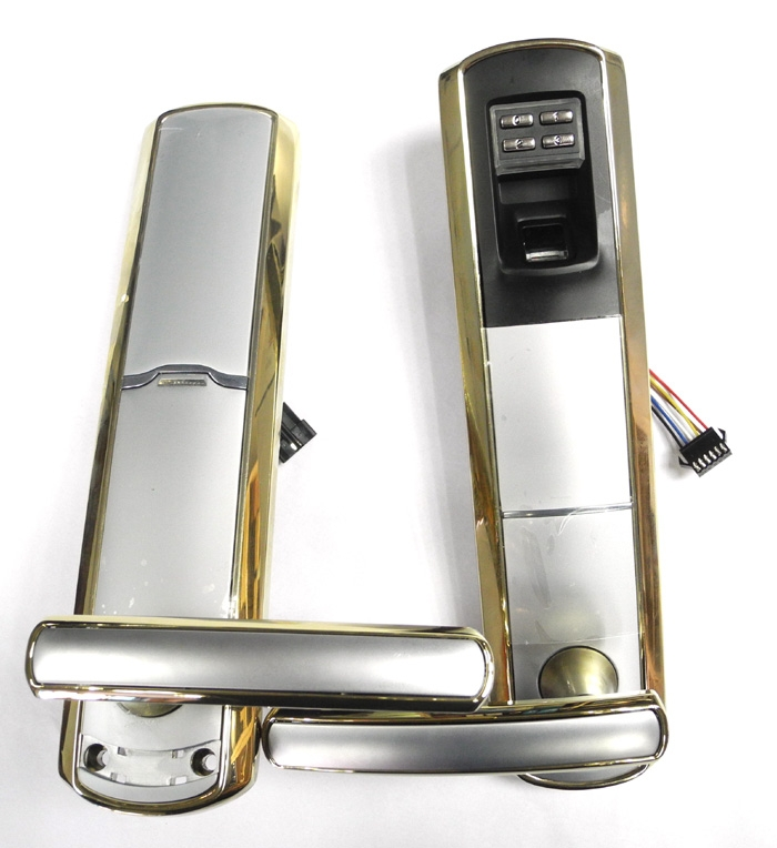 High Security Biometric Fingerprint And Password Door Lock