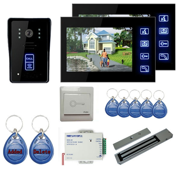 Wired Rfid Video T R Telefon Entry System
