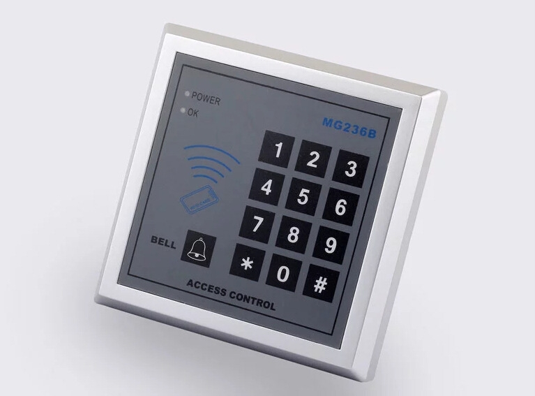 rfid single door access control with keypad. Black Bedroom Furniture Sets. Home Design Ideas
